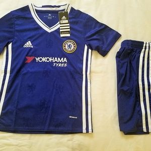 Other - CHELSEA KID SET( JERSEY & SHORT)
